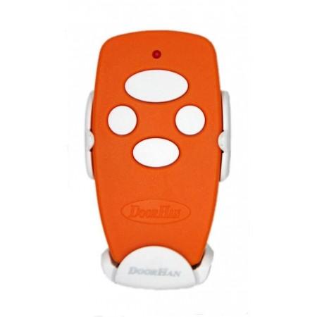 Пульт Transmitter 4-Orange 4-х канальный дистанционного управления 433МГц оранжевый (DOORHAN)