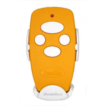 Пульт Transmitter 4-Yellow 4-х канальный дистанционного управления 433МГц желтый (DOORHAN)