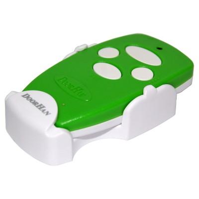 Пульт Transmitter 4-Green 4-х канальный дистанционного управления 433МГц зеленый (DOORHAN)