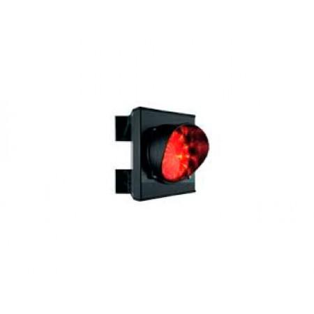Светофор светодиодный, 1-секционный, красный, 230 В.
