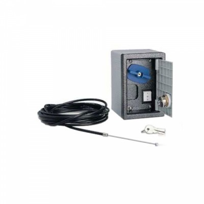 Система дистанционной разблокировки привода со встроенной кнопкой управления, в корпусе, трос 5 метров .
