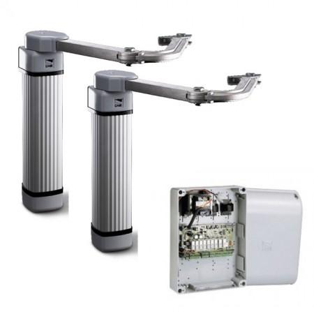 FLEX500/2 автоматизация распашных ворот с высокой интенсивностью эксплуатации