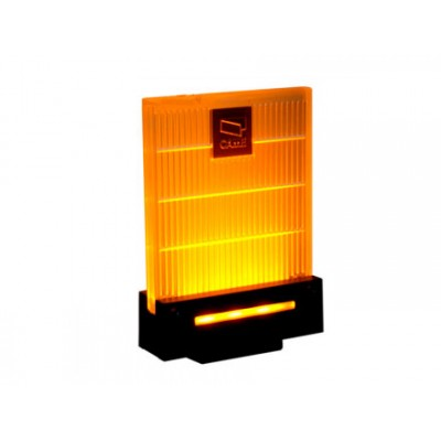Сигнальная лампа универсальная 230/24 В,светодиодное освещение янтарного цвета. Новый дизайн
