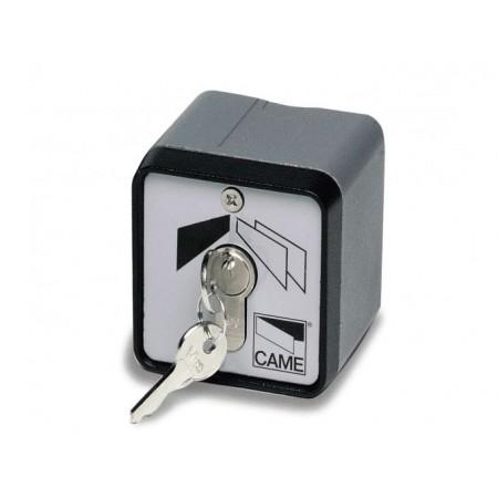 Ключ-выключатель с защитой цилиндра, накладной