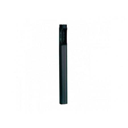Стойка дополнительная из ПВХ черного цвета, для установки второй пары фотоэлементов, Н=500 мм. /для фотоэлемента DIR /
