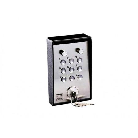 Клавиатура кодовая 9-кнопочная, накладная с ключом и подсветкой